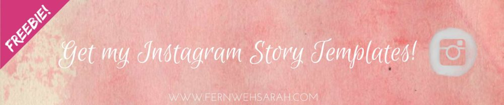 Instagram Story Templates - Entertain your IG Followers ⋆ Fernwehsarah