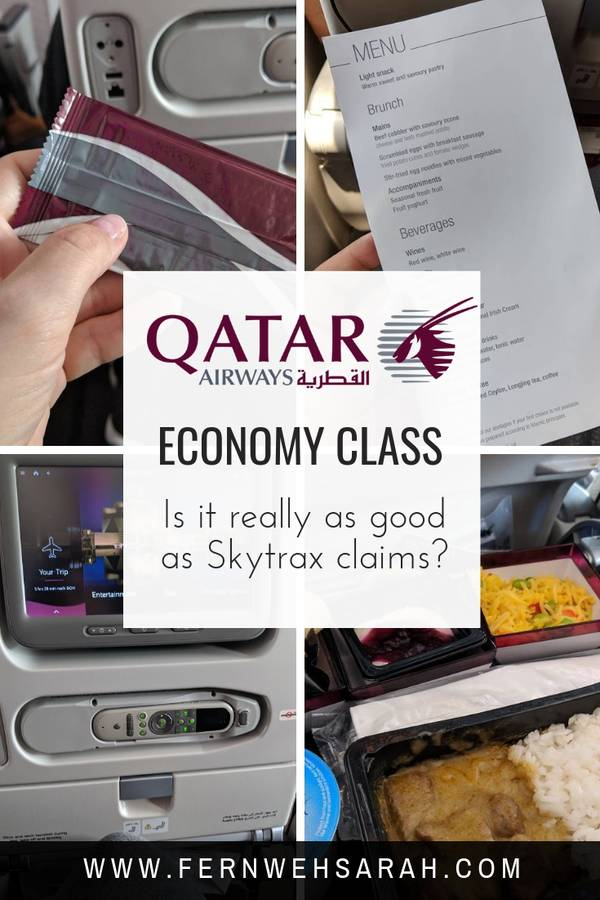Qatar Airways Economy Class Review