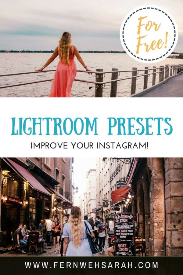 Free Lightroom Presets for Instagram - get my presets! ⋆ Fernwehsarah